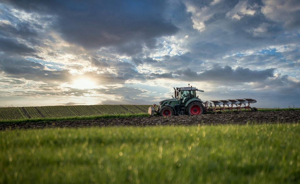 tractor, plough, agriculture